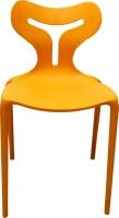 Mavi Plastic Cafeteria Chair (Finish Color - Yellow)