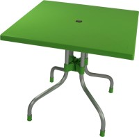 Supreme Plastic Outdoor Table (Finish Color - Green)