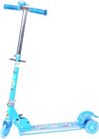 Happy Kids Foldable And Height Adjustable Scooter For Kids (Arrow) (Blue)