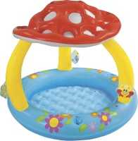 Intex Mushroom Baby Pool, W/ Infl. Floor (Multicolor)