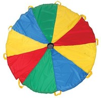 PACIFIC PLAY TENTS Funchute 6' Parachute (Multicolor)