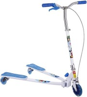 The Flyer's Bay Fiddle Diddle Scooter(Blue) (Blue)