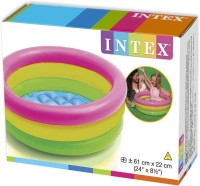 Shop & Shoppee Intex Inflatable Water Tub Pool For Kids(2-Feet) (Multicolor)