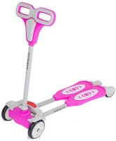 The Flyer's Bay 4 Wheel Flip Flop Scooter Pink) (Pink)