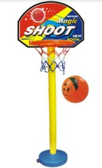 Nippon Outdoor Toys Nippon Basket Ball Plastic Set