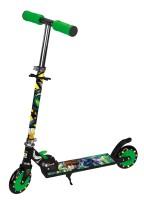 Toyhouse Ben10 LED Two Wheeled Metal Folding Wow Skate Scooter (Black)