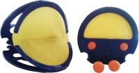 Vaibhav Squap Sports Set Snap And Catch Ball Game (Multicolor) (Blue, Yellow)