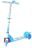 Happy Kids Foldable And Height Adjustable Scooter For Kids (Speed) (Blue)
