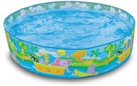 Turban Toys Intex 8 Feet Swimming Pool For Kids (Multicolor)