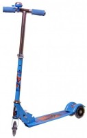 MERATOY.COM 3 WHEEL KICK SCOOTER FOR KIDS WITH LED LIGHTS ON WHEELS (Blue)