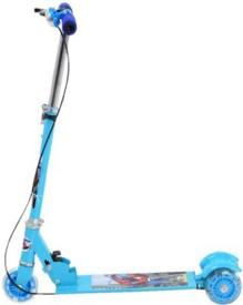 Kids Mandi Smash Street Scooter With Handbreaks Blue