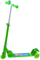 A R Enterprises 3 Wheel Foldable Scooter -Green (Green)