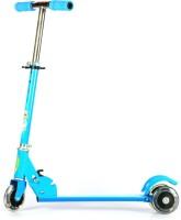 Taaza Garam Three Wheeler Kids Foldable Scooter (Blue)