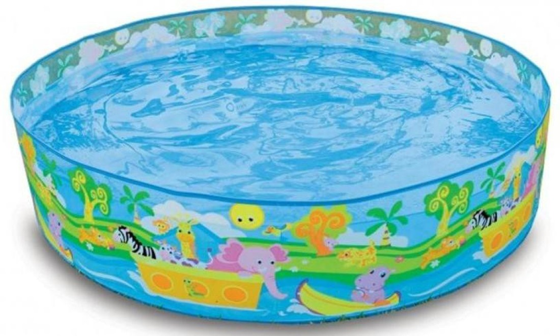 Intex snapset 4 feet kids water pool bath tub swimming for Children s garden pools