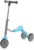 The Flyer's Bay 2 In 1 Sit Or Kick Scooter For Kids (Blue)