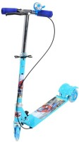 A R Enterprises 3 Wheel Foldable Kids Scooter (Blue)
