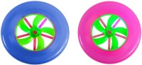 New Pinch Multicolor Flying Disc (pack Of 2) (Multicolor)