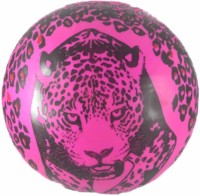 Shop4everything Play Ball With Pink Tiger Print (Pink, Black)
