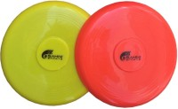 Sahni Sports Frisbee Flying Disk 10.5 Inch (Set Of 2) (Multicolor)