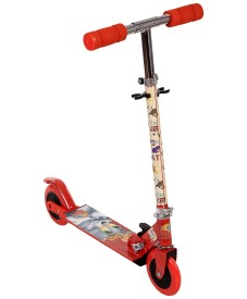The Flyer's Bay Licenced Multi Character 2 Wheel Scooter High Grade Material (Tom & Jerry)