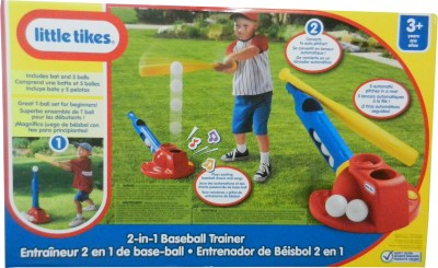Flat 40% Off on Little Tikes 2-in-1 Baseball Trainer from Flipkart - Rs 1699