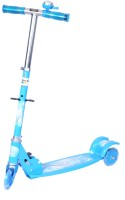 Happy Kids Foldable And Height Adjustable Scooter For Kids (Zoom) (Blue)