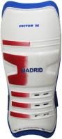 Vector X Madrid Large Shin Pads (White, Blue, Boys, Girls, Men)