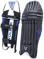 Wolfer Tusker Cricket Men Batting Pads (Black, Blue, Ambidextrous)