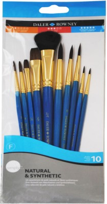 Buy Daler-Rowney Round, Script, Flat Wash, Oval Wash Paint Brush: Paint Brush