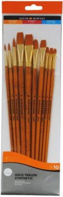 Buy Daler-Rowney Filbert, Round, Flat Paint Brush: Paint Brush