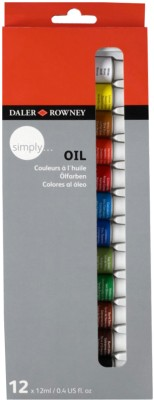 Buy Daler-Rowney Simply Oil Color Tube: Paint