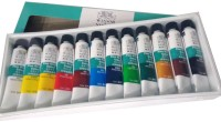 Winsor & Newton Fine Acrylic Color Tube (Set Of 12, Multicolour)
