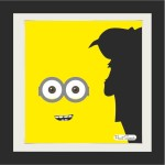 PrintSpeaks Minion PhotoArt 14X14 inch