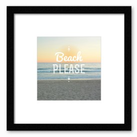 Dreambolic Beach Please Poster Digital Reprint Painting