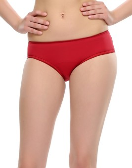Clovia Sexy Lacy Maroon Girl's Hipster Panty Pack Of 1