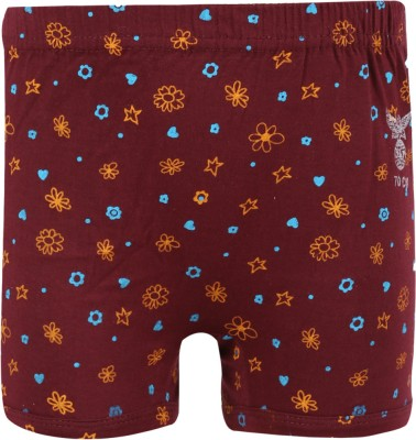 Dsp Baby Girl's Boy Short Panty (Maroon)