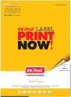 Desmat A4st16 - 100s,Labels,A4 Sheet Self-Adhesive Paper Label (White)