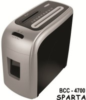 Bambalio 7 Sheets Paper/Cd/Credit Card Level 2 Micro-cut Office Paper Shredder (Grey)