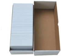 Excelam Pvc Cards Unruled 54x86 Mm Printer Paper (Set Of 1, White)