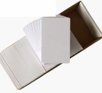 DDS Inkjet Unruled ID Pvc Card (Set Of 1, White)