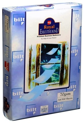 Buy Bilt Royal Executive Bond Unruled A4 Bond Paper: Paper