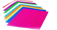Chrome Art & Craft Paper Ruled A4 Multipurpose Paper (Set Of 10, Multicolor)