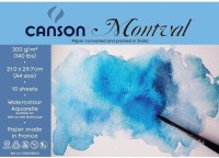 Canson Montval Unruled A4 Watercolor Paper (Set Of 1, White)