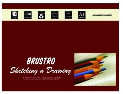 Buy Brustro Artist A4 Sketching and Drawing Paper: Paper