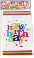 Funcart Star Birthday Lootbag Printed Party Bag (Multicolor, Pack Of 6)