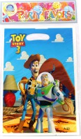 Funcart Toy Story Theme Lootbag Printed Party Bag (Multicolor, Pack Of 6)