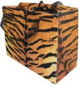 Enwraps Tiger Big Paper Printed Party Bag - Black, Yellow, Pack Of 6
