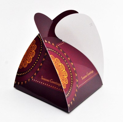 PrintSpeaks Pyramid Rangoli Design Gift Box