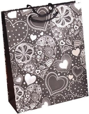 Enwraps White Heart Print Big