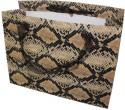 Enwraps Cobra Big Paper Printed Party Bag - Black, Yellow, Pack Of 6